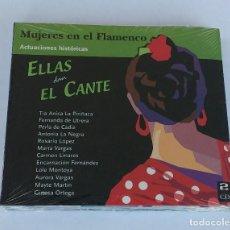 CDs de Música: ELLAS DAN EL CANTE - 2 CD'S. PRECINTADO.. Lote 64171191
