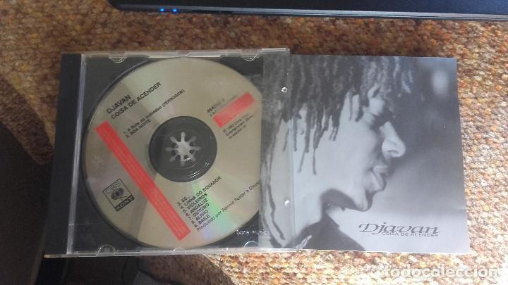 DJAVAN , COISA DE ASCENDER , CD (Música - CD's Latina)
