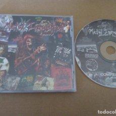 CDs de Música: METAL INQUISITION -RECOPILACION METAL-BLACK METAL DEATH METAL. Lote 64211291