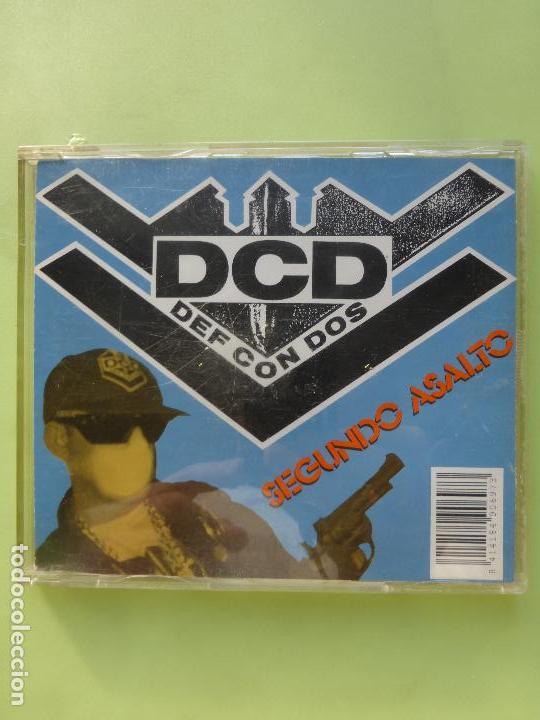 DEF CON DOS - DCD - SEGUNDO ASALTO - -CD - HIP HOP - DRO - RARO (Música - CD's Hip hop)