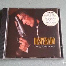 CDs de Música: ORIGINAL MOTION PICTURE SOUNDTRACK - DESPERADO - CD ALBUM BSO. Lote 64360271