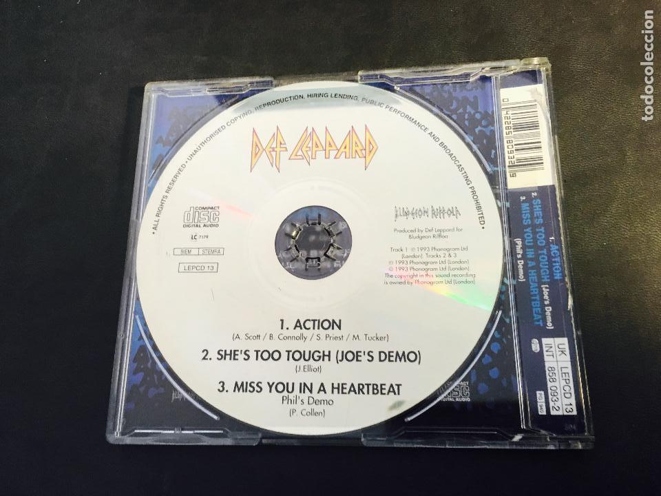 CDs de Música: DEF LEPPARD (ACTION) CD SINGLE 3 TRACKS (CDI3) - Foto 2 - 64369151