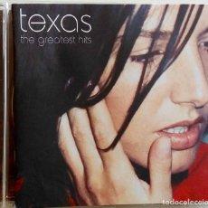 CDs de Música: TEXAS . THE GREATEST HITS. CD. Lote 64374335