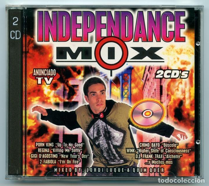 CD - INDEPENDANCE MIX - BLANCO Y NEGRO - 1996 (2 DISCOS) (Música - CD's Disco y Dance)