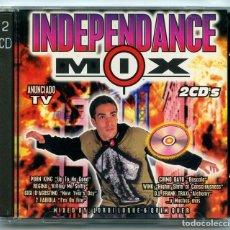 CDs de Música: CD - INDEPENDANCE MIX - BLANCO Y NEGRO - 1996 (2 DISCOS). Lote 64418295