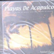 CDs de Música: PLAYAS DE ACAPULCO. A MAGICAL BLEND OF MUSIC AND THE SOUNDS OF NATURE. CD-VARIOS-1332,4. Lote 180097646