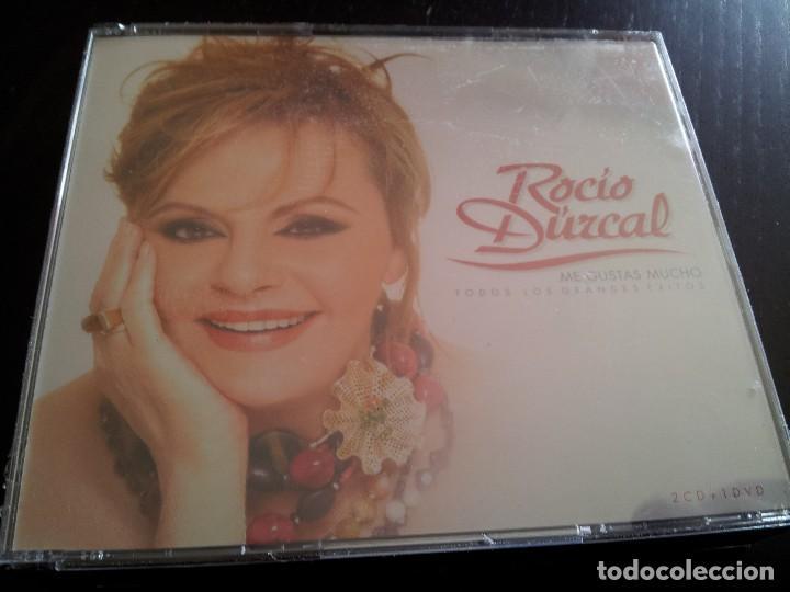 ROCIO DURCAL - ME GUSTAS MUCHO / 2 CD + DVD / PRECINTADO (Música - CD's Flamenco, Canción española y Cuplé)
