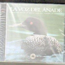 CDs de Música: LA VOZ DEL ÁNADE. A MAGICAL BLEND OF MUSIC AND THE SOUNDS OF NATURE. CD-VARIOS-1337,2. Lote 180097638