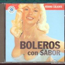 CDs de Música: MUSICA GOYO - CD ALBUM - BOLEROS CON SABOR - LOS SONEROS DEL CALLAO - - *AA98. Lote 64610063