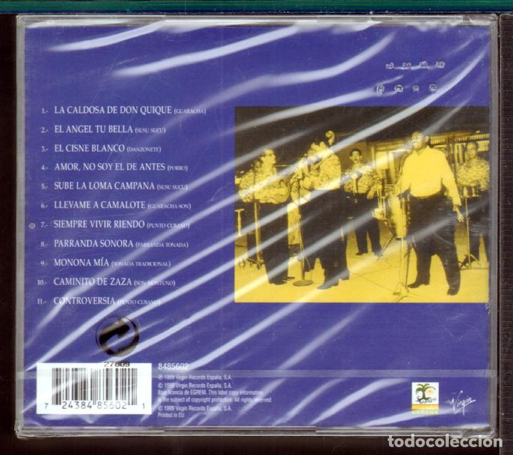 CDs de Música: MUSICA GOYO - CD ALBUM - JILGUERO DE CIENFUEGOS - PUNTO CUBANO - RARISIMO - *UU99 - Foto 2 - 64610451