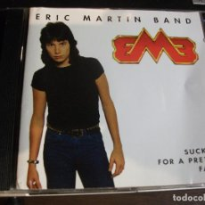 CDs de Música: ERIC MARTIN BAND - SUCKER FOR A PRETTY FACE - CD ALBUM - HARDROCK COMO NUEVO¡¡. Lote 95472748