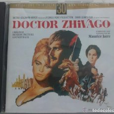 CDs de Musique: DOCTOR ZHIVAGO - MAURICE JARRE - CD BSO / OST BANDA SONORA SOUNDTRACK - DELUXE EDITION - 45 TRACKS. Lote 64723875