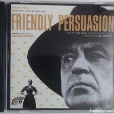 CDs de Música: FRIENDLY PERSUASION (LA GRAN PRUEBA) - DMITRI TIOMKIN - CD BSO / OST / BANDA SONORA / SOUNDTRACK. Lote 64725055