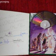 CDs de Música: ?BOYS II MEN POSTAL DE NAVIDAD CD EXCLUSIVO CON TEMA DE NAVIDAD Y BEATLES YESTERDAY SILENT NIGHT. Lote 64755127