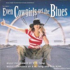 CDs de Música: EVEN COWGIRLS GET THE BLUES,B.S.O. DEL 93. Lote 64825555