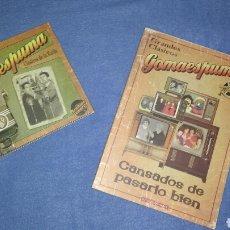 CDs de Música: GOMAESPUMA 2 CDS + DVD REGALO CLASICOS. Lote 64847477