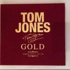 CDs de Música: TOM JONES GOLD. Lote 64883403
