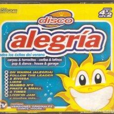 CDs de Música: DISCO ALEGRÍA. 4 CDS. Lote 64914295