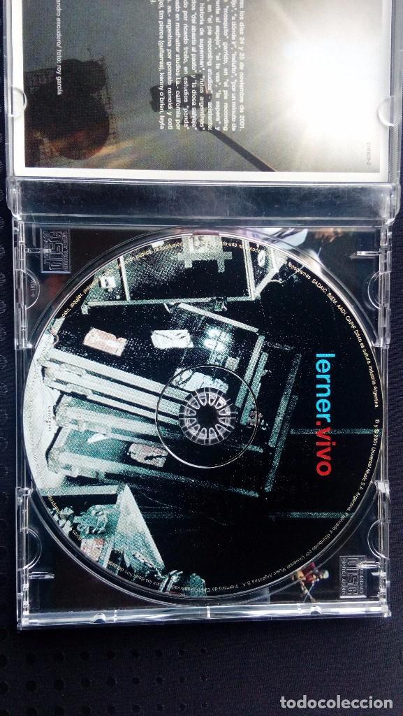 CDs de Música: Alejandro Lerner. Lerner. Vivo - Foto 3 - 64941679