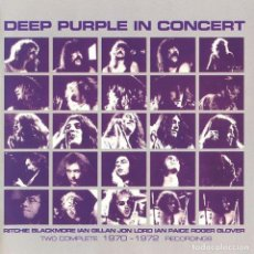 CDs de Música: DEEP PURPLE IN CONCERT 2CDS. Lote 64961763