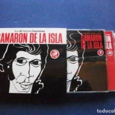 CDs de Música: CAMARON DE LA ISLA - 50 MEJORES CANCIONES - ESTUCHE CON 3 CDS COMO NUEVO¡¡¡ PEPETO. Lote 65012499