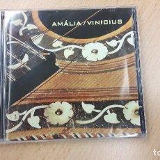 CDs de Música: AMÁLIA / VINICIUS - AMÁLIA / VINICIUS (1970)CDIPLAY SOM- REEDICIÓN 2008. Lote 65048871