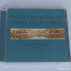 CDs de Música: FESTIVAL INTERNACIONAL DEL CANTE DE LAS MINAS - ANTOLOGÍA VOL.4. PRECINTADO.. Lote 65233679