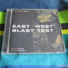 CDs de Música: EAST/WEST BLAST TEST - EAST WEST BLAST TEST CD - GRINDCORE. Lote 65434583