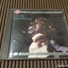 CDs de Música: LOUIS AMSTRONG - THE SILVER COLLECTION. Lote 65436188