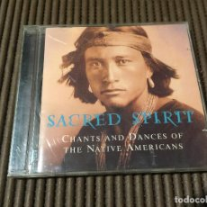 CDs de Música: CHANTS AND DANCES OF THE NATIVE AMERICANS / SACRET SPIRIT CD. Lote 65436800