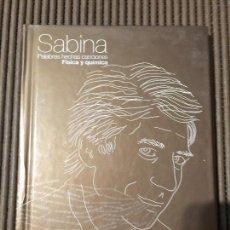 CDs de Música: SABINA. PALABRAS HECHAS CANCIONES. FÍSICA Y QUIMICA. Lote 65436791