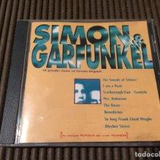 CDs de Música: SIMON & GARFUNKEL. 16 GRANDES EXITOS EN VERSION ORIGINAL.. Lote 65436824