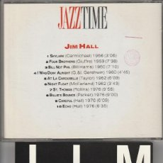 CDs de Música: JIM HALL (CD JAZZTIME 1993). Lote 65456654