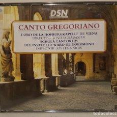 CDs de Música: CANTO GREGORIANO - CORO DE LA HOFBURGKAPELLE DE VIENA Y SCHOLA CANTORUM - ESTUCHA CON 4 CDS.. Lote 65671302