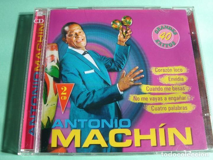 ANTONIO MACHÍN / GRANDES ÉXITOS / LO MEJOR DE / 40 TEMAS / 2 CD (Música - CD's Melódica )