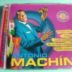CDs de Música: ANTONIO MACHÍN / GRANDES ÉXITOS / LO MEJOR DE / 40 TEMAS / 2 CD. Lote 65750858
