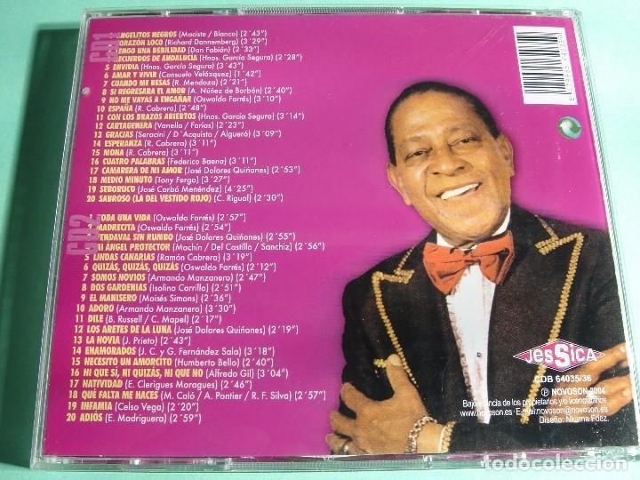 CDs de Música: ANTONIO MACHÍN / GRANDES ÉXITOS / LO MEJOR DE / 40 TEMAS / 2 CD - Foto 2 - 65750858