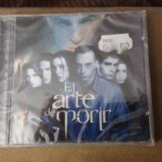 CDs de Música: CD NUEVO PRECINTADO BSO EL ARTE DE MORIR CINE ESPAÑOL SOUNDTRACK OST BANDA SONORA ORIGINAL. Lote 65848674