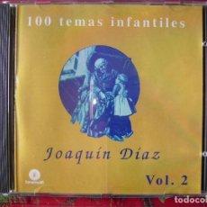 CDs de Música: JOAQUIN DIAZ.100 TEMAS INFANTILES VOL 2. Lote 65852106