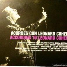 CDs de Música: ACORDES CON LEONARD COHEN.AUTE-S.AUSERON-ADAM COHEN-ELLIOTT MURPHY...2 CD´S + DVD. Lote 65886486