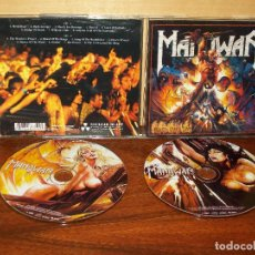 CDs de Música: MANOWAR - HELL ON STAGE LIVE - DOBLE CD . Lote 65925722