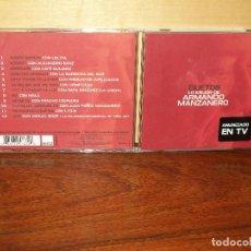 CDs de Música: ARMANDO MANZANERO - DUETOS LO MEJOR DE - CD . Lote 120102856