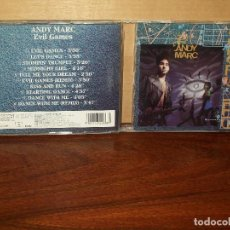 CDs de Música: ANDY MARC - EVIL GAMES - CD. Lote 198593787