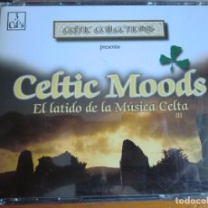 CDs de Música: 3 CD CELTIC MOODS: EL LATIDO DE LA MÚSICA CELTA (1.998) MUY BUEN ESTADO. Lote 65929614