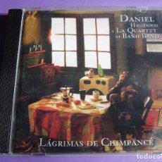 CDs de Música: DANIEL HIGIENICO Y LA QUARTET DE BAÑO BAND / LÁGRIMAS DE CHIMPANCÉ / CD. Lote 65942382