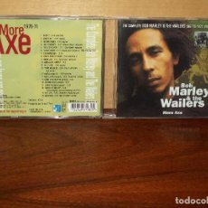 CDs de Música: BOB MARLEY & THE WAILERS - MORE AXE - CD. Lote 209959107