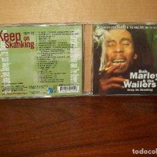 CD de Música: BOB MARLEY & THE WAILERS - KEEP ON SKANKING - CD. Lote 65953218