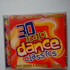 CDs de Música: 30 ITALO DANCE CLASSICS CD (1997). Lote 65982575