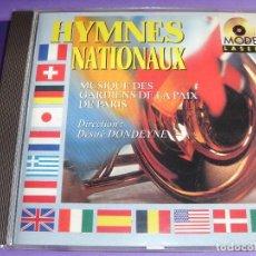 CDs de Música: HIMNOS DE PAISES / HIMNO NACIONAL DE FRANCIA, ALEMANIA, CANADÁ, ESPAÑA, GRECIA, ITALIA, JAPÓN, ETC.. Lote 65990498