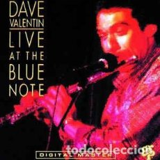 CDs de Música: DAVE VALENTIN - LIVE AT THE BLUE NOTE (CD) GRP. Lote 65990882